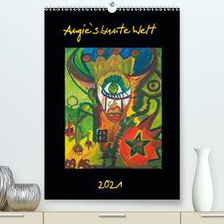Angie`s bunte Welt (Premium, hochwertiger DIN A2 Wandkalender 2021, Kunstdruck in Hochglanz) von Stern,  Angie