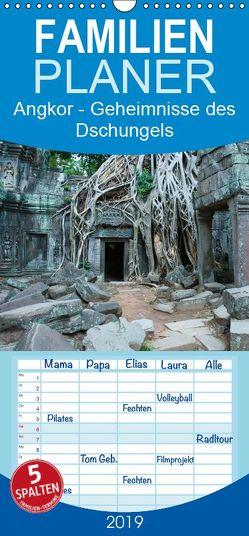 Angkor – Geheimnisse des Dschungels – Familienplaner hoch (Wandkalender 2019 , 21 cm x 45 cm, hoch) von Knödler / www.stephanknoedler.de,  Stephan
