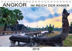 ANGKOR – IM REICH DER KHMER (Tischkalender 2019 DIN A5 quer) von Weigt Photography,  Mario