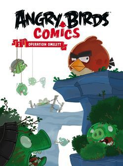 Angry Birds Comicband 1 – Softcover von Bratenstein,  Jan, Martin,  Oscar, Parker,  Jeff, Rodrigues,  Paco, Toriseva,  Janne