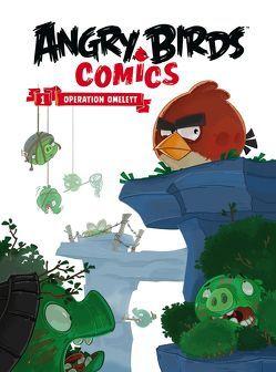 Angry Birds Comicband 1 – Softcover von Bratenstein,  Jan, Martin,  Oscar, Parker,  Jeff, Rodrigues,  Paco, Toriseva,  Janne