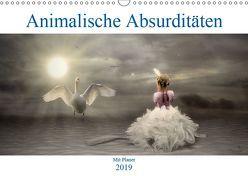 Animalische Absurditäten mit Planer (Wandkalender 2019 DIN A3 quer) von glandarius,  Garrulus