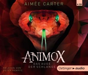 Animox. Das Auge der Schlange (4 CD) von Carter,  Aimée, Gustavus,  Frank, Illinger,  Maren, Kaempfe,  Peter, Schneider,  Frauke