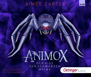 Animox. Der Biss der schwarzen Witwe (4 CD) von Carter,  Aimée, Illinger,  Maren, Schneider,  Frauke