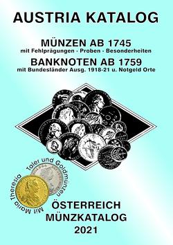 ANK-Muenzkatalog Österreich 2021