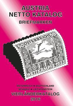 ANK-Vierlaender Katalog 2016 von Steyrer,  Christine