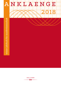 ANKLAENGE 2018 von Giannini,  Juri, Glanz,  Christian, Heimerdinger,  Julia, Holzer,  Andreas, Urbanek,  Nikolaus