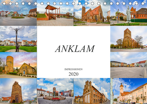 Anklam Impressionen (Tischkalender 2020 DIN A5 quer) von Meutzner,  Dirk