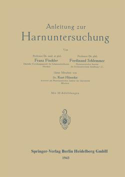 Anleitung zur Harnuntersuchung von Fischler,  Franz, Schlemmer,  Ferdinand