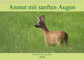 Anmut mit sanften Augen – Rehwild in der freien Natur (Tischkalender 2020 DIN A5 quer) von Grahneis,  Sabine