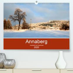 Annaberg – Hauptstadt des Erzgebirges (Premium, hochwertiger DIN A2 Wandkalender 2020, Kunstdruck in Hochglanz) von Roick,  Reinalde