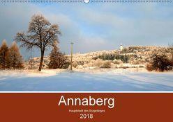 Annaberg – Hauptstadt des Erzgebirges (Wandkalender 2018 DIN A2 quer) von Roick,  Reinalde