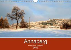 Annaberg – Hauptstadt des Erzgebirges (Wandkalender 2019 DIN A4 quer) von Roick,  Reinalde