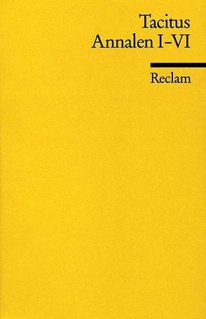 Annalen von Sontheimer,  Walther, Tacitus