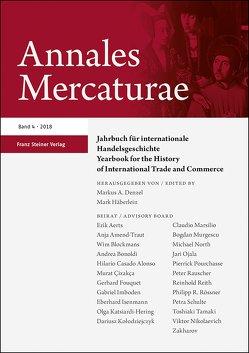Annales Mercaturae 4 (2018) von Denzel,  Markus A., Häberlein ,  Mark