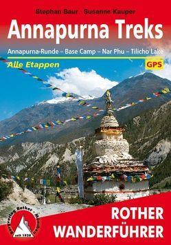 Annapurna Treks von Arnold,  Susanne, Baur,  Stephan