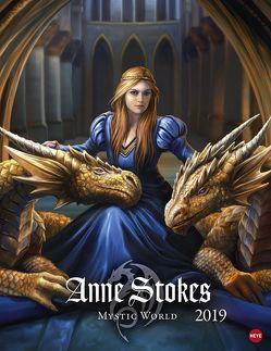 Anne Stokes Mystic World Posterkalender – Kalender 2019 von Heye, Stokes,  Anne