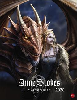 Anne Stokes Mystic World Posterkalender Kalender 2020 von Heye, Stokes,  Anne