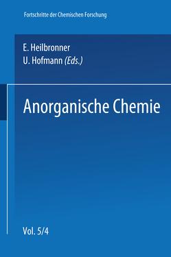 Anorganische Chemie von Engelhardt,  U., Jander,  J., Newesely,  Heinrich, Paetzold,  Roland, Sillescu,  Hans, Weiß,  Johannes