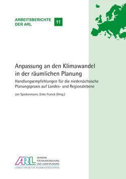Anpassung an den Klimawandel in der räumlichen Planung von Franck,  Enke, Spiekermann,  Jan