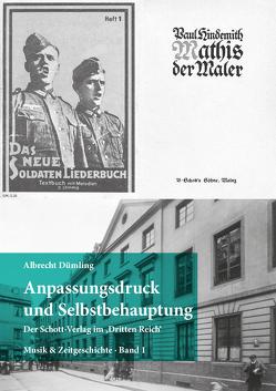 Anpassungsdruck und Selbstbehauptung von Dümling,  Albrecht
