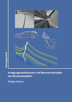 Anregungsmechanismen und Resonanzverhalten von Karosseriespalten von Winter,  Philipp