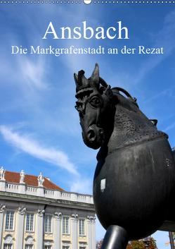 Ansbach – Die Markgrafenstadt an der Rezat (Wandkalender 2019 DIN A2 hoch) von Ernst,  Inna
