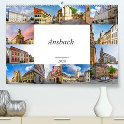 Ansbach Impressionen (Premium, hochwertiger DIN A2 Wandkalender 2020, Kunstdruck in Hochglanz) von Meutzner,  Dirk