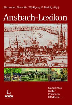 Ansbach von A-Z von Reddig,  Wolfgang