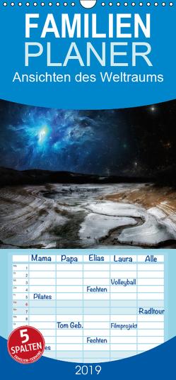 Ansichten des Weltraums – Familienplaner hoch (Wandkalender 2019 , 21 cm x 45 cm, hoch) von Gaymard,  Alain