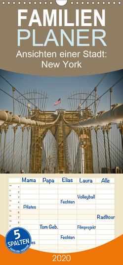 Ansichten einer Stadt: New York – Familienplaner hoch (Wandkalender 2020 , 21 cm x 45 cm, hoch) von Fotos - Fritz Malaman,  Art