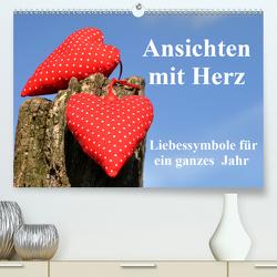 Ansichten mit Herz (Premium, hochwertiger DIN A2 Wandkalender 2020, Kunstdruck in Hochglanz) von Sarnade