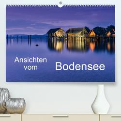 Ansichten vom Bodensee (Premium, hochwertiger DIN A2 Wandkalender 2021, Kunstdruck in Hochglanz) von Hoffmann,  Klaus