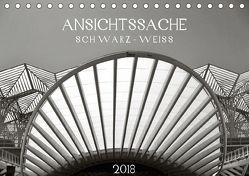 Ansichtssache schwarz-weiß (Tischkalender 2018 DIN A5 quer) von Ganz,  Andrea