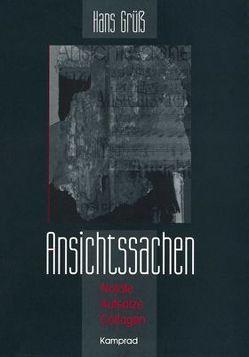 Ansichtssachen von Grüß,  Hans, Michel,  Andreas, Schinköth,  Thomas, Schulze,  Hans J