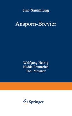 Ansporn-Brevier von Helbig,  Wolfgang, Pommrich,  Hedda