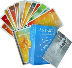 Antares – Das Kosmische Orakelkartenset von Neuner,  Werner J