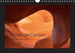 Antelope Canyon 2019 (Wandkalender 2019 DIN A4 quer) von Struck,  Karsten