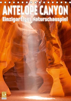 Antelope Canyon – Einzigartiges Naturschauspiel (Tischkalender 2020 DIN A5 hoch) von Viola,  Melanie