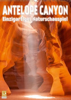 Antelope Canyon – Einzigartiges Naturschauspiel (Wandkalender 2021 DIN A2 hoch) von Viola,  Melanie