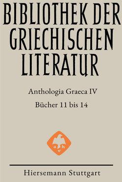 Anthologia Graeca von Gerlach,  Jens, Hansen,  Dirk Uwe, Kugelmeier,  Christoph, Teichmann,  Jenny
