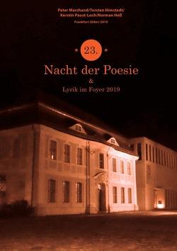 """Anthologie """"Nacht der Poesie"""" Oderlandautoren / 23. Nacht der Poesie 2018 von Marchand,  Peter, Ruhlig,  Lothar"""