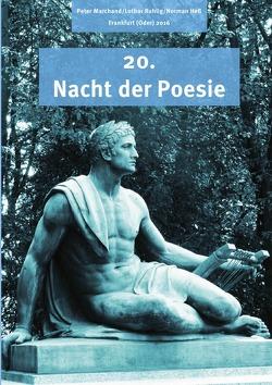 """Anthologie """"Nacht der Poesie"""" Oderlandautoren / Nacht der Poesie 2016 von Marchand,  Peter, Ruhlig,  Lothar"""