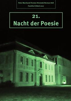 """Anthologie """"Nacht der Poesie"""" Oderlandautoren / Nacht der Poesie 2017 von Marchand,  Peter, Ruhlig,  Lothar"""