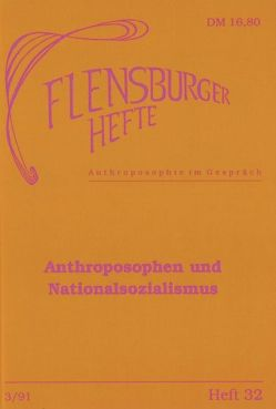 Anthroposophen und Nationalsozialismus von Geiss,  Imanuel, Giordano,  Ralph, Höfer,  Thomas, Lindenberg,  Christoph, Wagner,  Arfst, Weirauch,  Wolfgang
