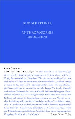 Anthroposophie von Steiner,  Rudolf