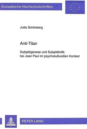 Anti-Titan von Schönberg,  Jutta