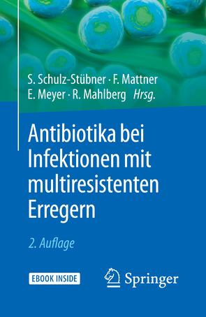 Antibiotika bei Infektionen mit multiresistenten Erregern von Mahlberg,  Rolf, Mattner,  Frauke, Meyer,  Elisabeth, Schulz-Stübner,  Sebastian