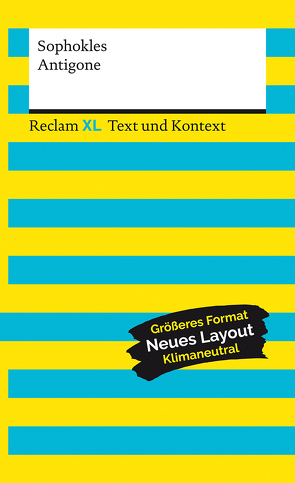 Antigone. Textausgabe mit Kommentar und Materialien von Hönsch,  Nancy, Leis,  Mario, Sophokles, Steinmann,  Kurt