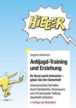 Antijagd-Training und Erziehung von Bütefisch,  Siegfried